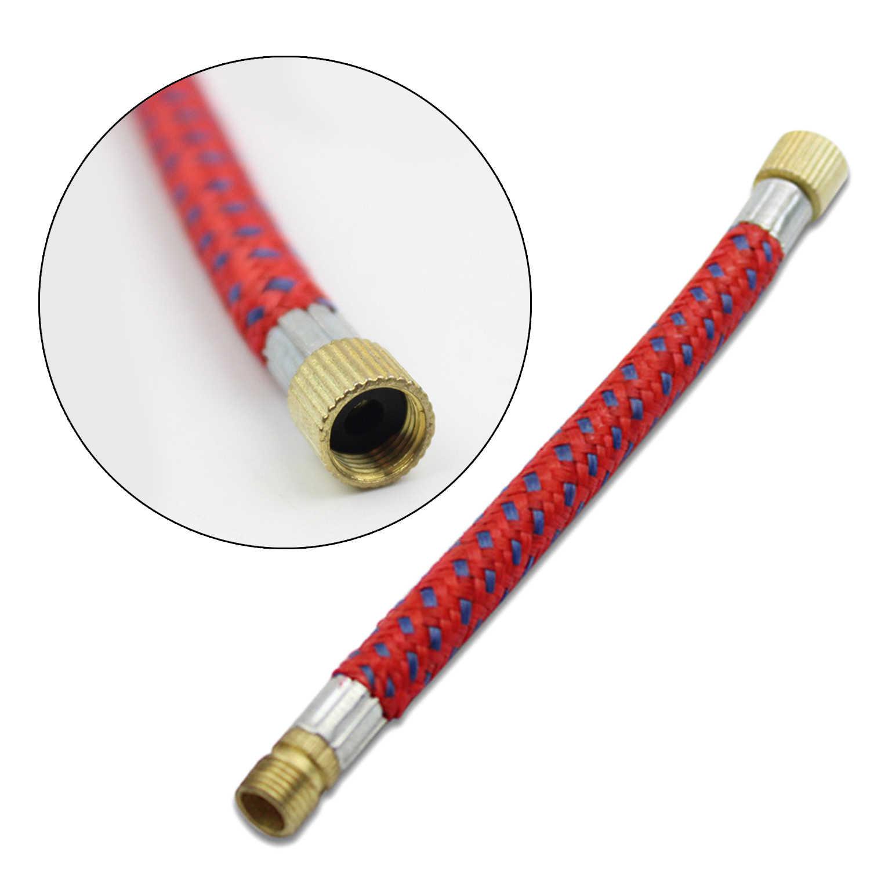 Portátil inflables de aire bomba de bola con manguera agujas boquillas para baloncesto fútbol voleibol Rugby Bola de agua de Color al azar