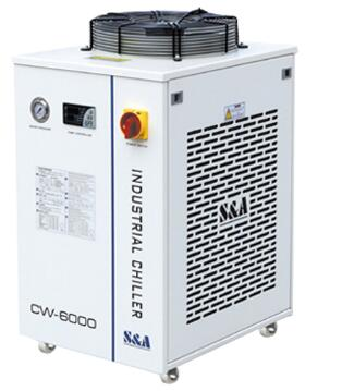 Industrial Original S&A Water Chiller For CNC/ Laser Engraver Engraving Machines CW-6000AH