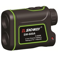 SNDWAY 600m SW 600A Monocular Metre Laser Rangefinder Distance Meter Hunting Telescope Trena Laser Range Finder