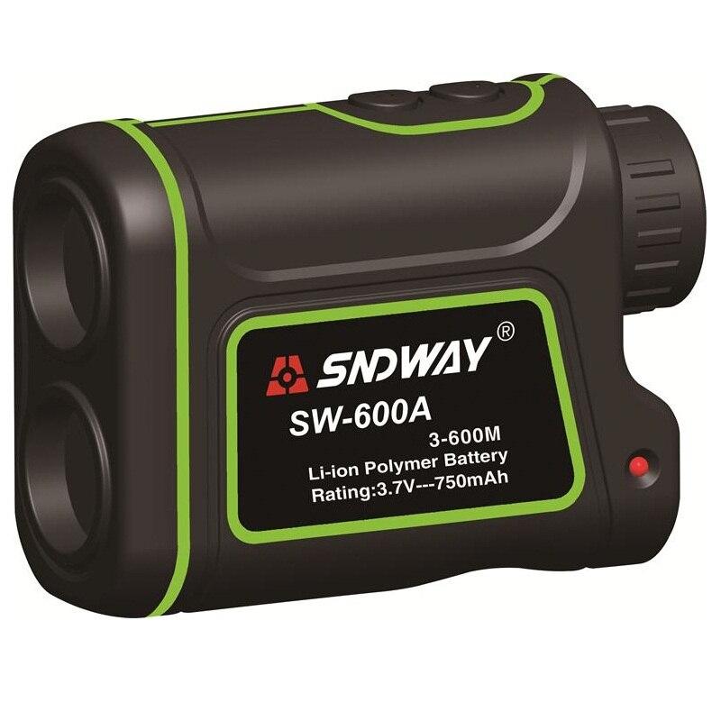 SNDWAY 600m SW-600A Monocular metre Laser Rangefinder Distance Meter hunting Telescope trena laser range finder measure outdoor lixf uyigao monocular laser rangefinder handheld telescope 5 x 600m