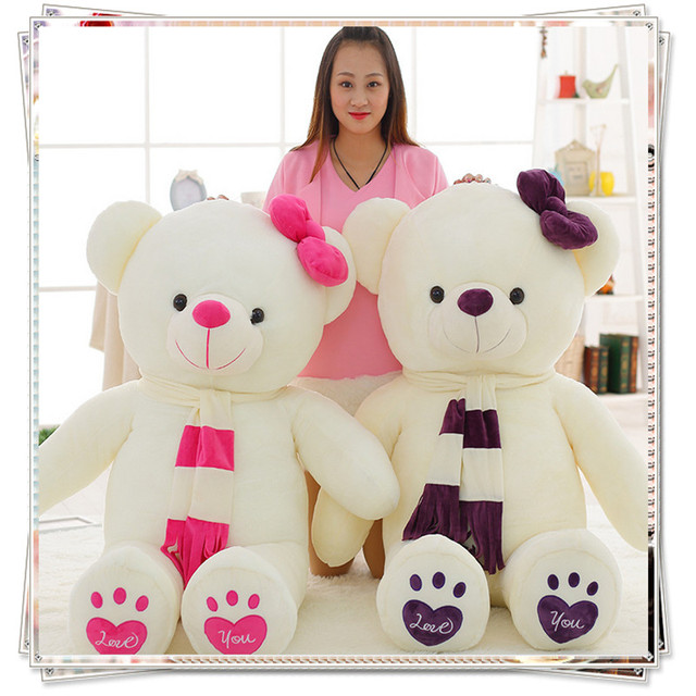 Giant teddy bear kids toys kawaii plush cute stuffed