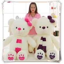 Giant teddy bear kids toys kawaii plush cute stuffed animals with big eyes teddy bear big baby soft valentine's day gift