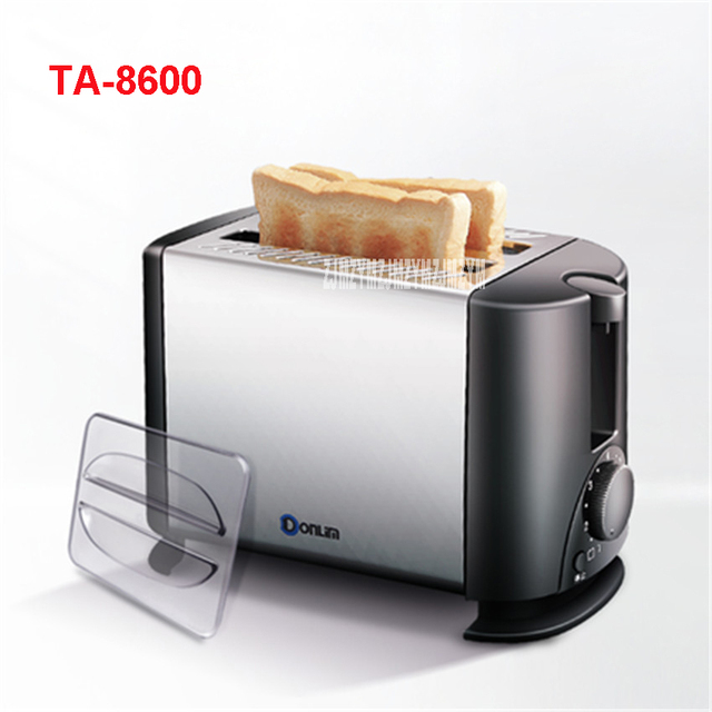 Ta-8600 Высокое качество бытовой Приспособления сентек мини-печь тостер хлебопечки корпус из нержавеющей стали 220 В/50 гц Тостеры