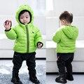 KIDS NEW Retali Moda Bebé Invierno Ropa Infantil Engrosamiento Wadded la Chaqueta de Algodón Acolchado Cálido Abrigo prendas de Vestir Exteriores Chicos y niñas