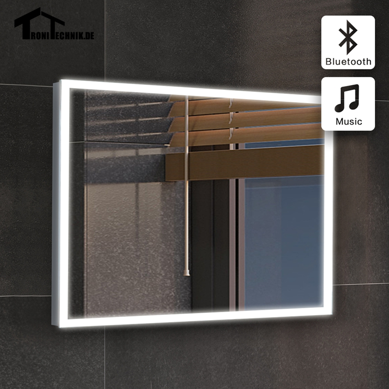 90 240v mirror bath 50x70 mirror tiles bath bluetooth for Miroir 50x70