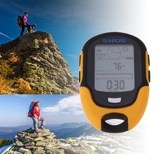 Hot Sale !!! Portable Outdoor Camping Waterproof FR500 Multifunction Running Swimming LCD Digital Altimeter Barometer Compass