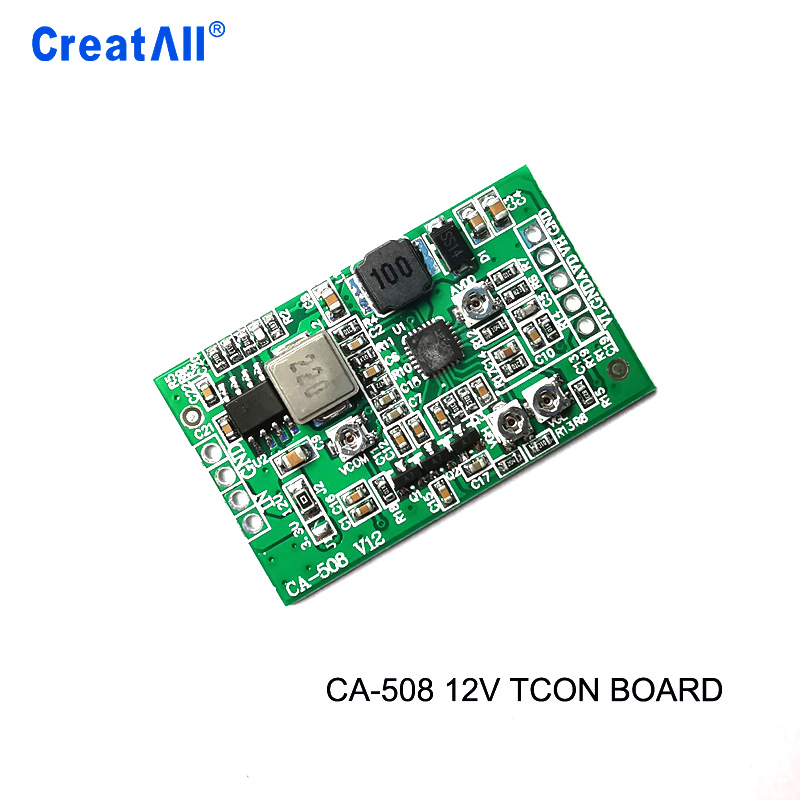 CA-508 12v Boost Board Module LCD TCON Board VGL VGH VCOM.AVDD 4 Adjustable