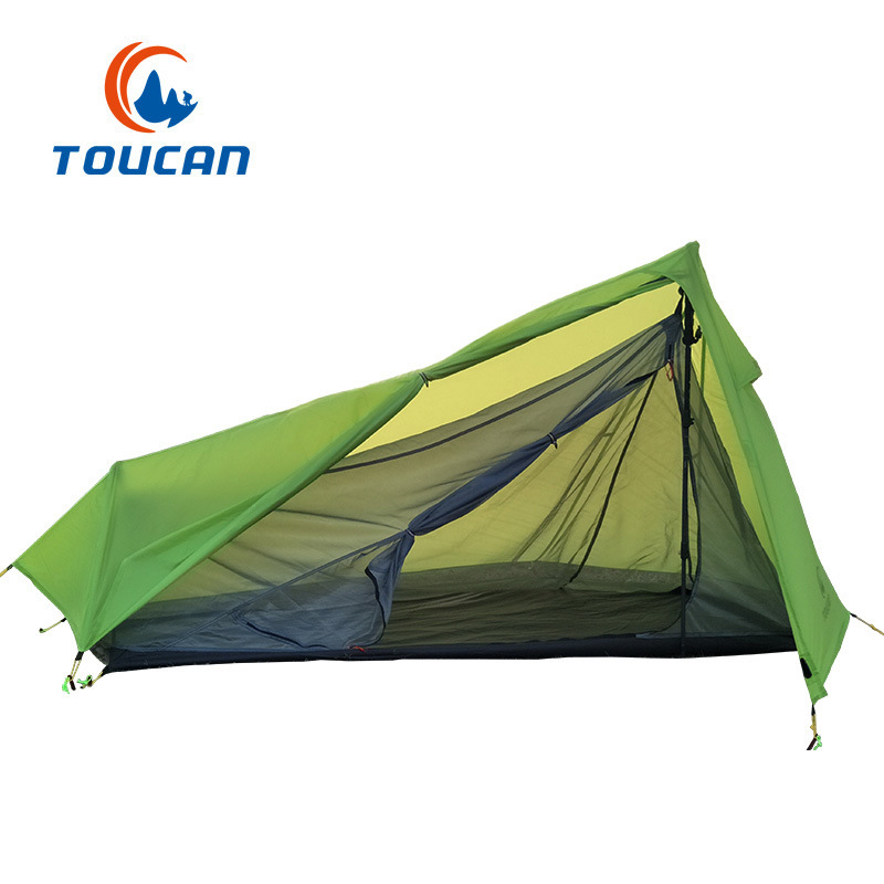 New Outdoor 15D coated silicone waterproof camping lightweight tent windproof rainproof ultralight tent 2018 hillman camping tent high mountain highland snow mountain double layers silicone coating tents super windproof rainproof