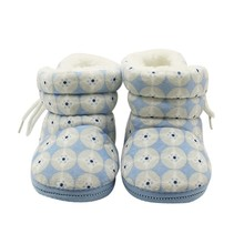 2017 Winter Kawaii 3 Colors Newborn Baby Girls Lovely Fashion Boots Coin Circle Baby Cute Plus Cashmere Warm Baby Boots