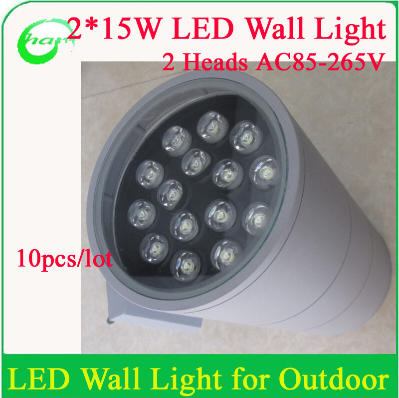 Led Wall Lights Price In Pakistan: Newest 15w*2 High Power Outdoor Led Wall Light Good Price