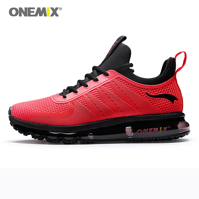 onemix men running shoes shock absorption sports sneaker breathable light sneaker for outdoor walking jogging shoes