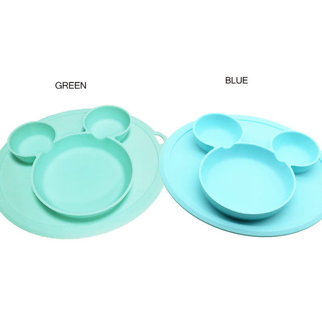 Mickey Mouse Baby Silicone Bowl
