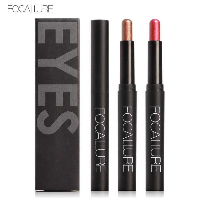 FOCALLURE Eye Stick 12 Color Eyeliner Pencil Eye Shadow Pen Eye Liner Sticks Eyebrow Pencil Eye Makeup