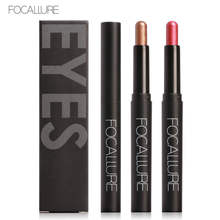 FOCALLURE Eye Stick 12 Color Eyeliner Pencil Shadow Pen Liner Sticks Eyebrow Makeup