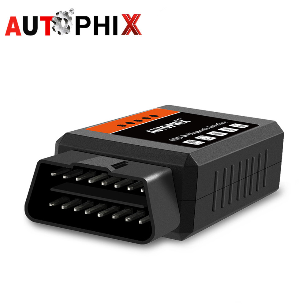 OBD2 ELM327 v1.5 Pic18f25k80 ELM327 Bluetooth OBD 2 v1.5 Bluetooth Code Reader Car Diagnostic Tool ODB2 Scanner Autophix Om100