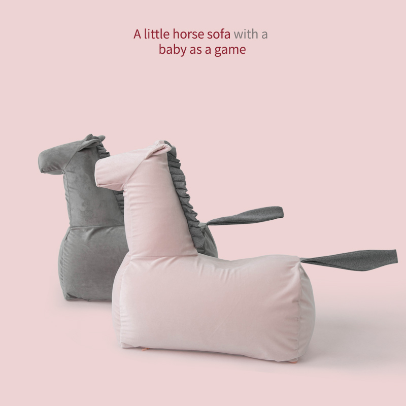 Children's sofa cute pony cartoon baby sofa baby princess lazy sofa lazy chair portable chair sofa for kids bean bag chairs