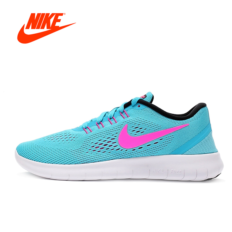 Original New Arrival Offical NIKE FREE RN Women's Low Top Running Shoes Sneakers original new arrival nike free rn flyknit r women s running shoes sneakers