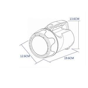 Image 5 - 250 واط المدمج في البطارية الأضواء القابلة لإعادة الشحن في الهواء الطلق مصباح محمول كشاف للصيد المحمولة المحمولة طلقات طويلة مصباح