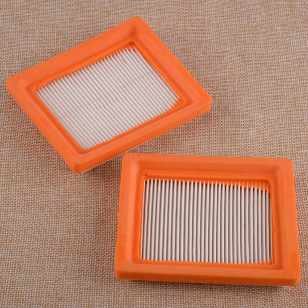 LETAOSK High Performance 2pcs Air Filter Replacement 14 083 15-S 14 083 16-S Fit For Kohler XT650 XT675 Lawnmower Engine