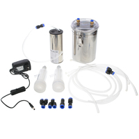 110V 220V Stainless Steel Durable Vacuum Pump Goat Milker Electric Sheep Milking Machine for Sheep