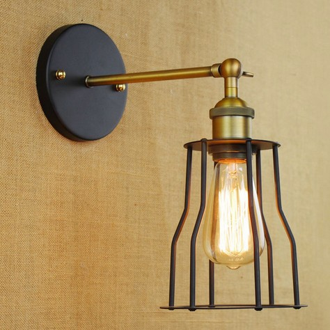 ?Edison Retro Loft ? Style Style Sconce Vintage Wall Light For For Home Antique Industrial Wall ...