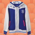 Snow Miku Concept thin cool blue and white hoodie high quality anime game costume unisex AC85