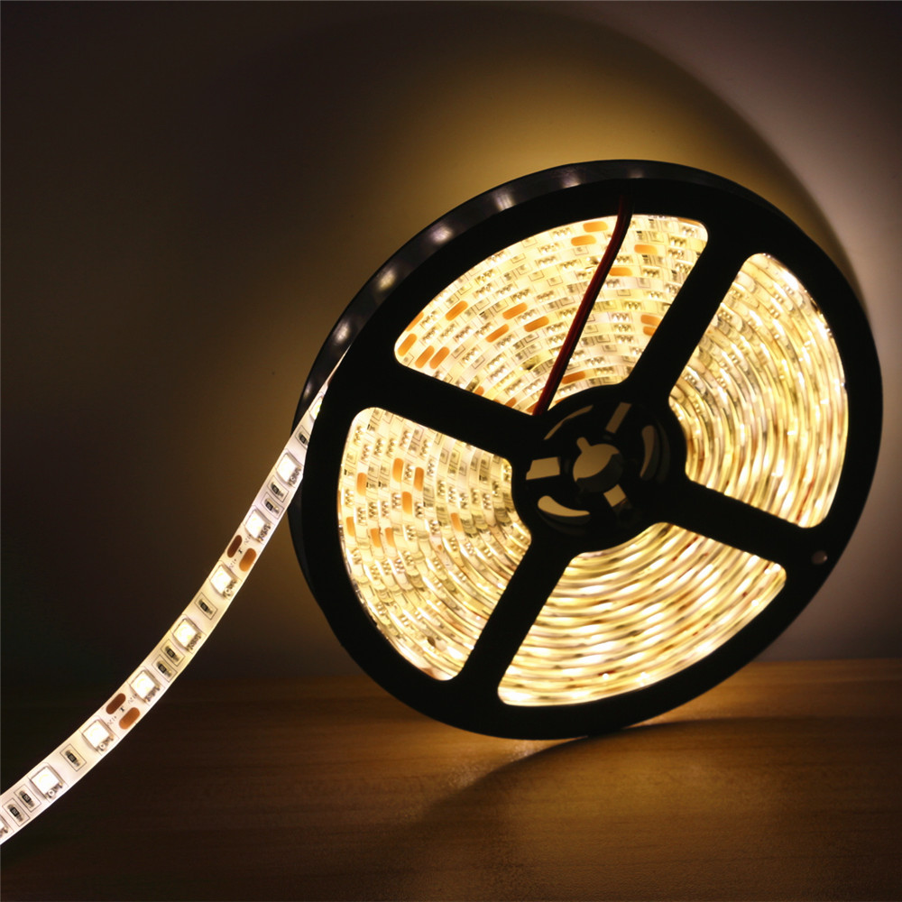 high bright 0 5 1 2 3 4 5m 5050 flexible led strip light 12v 60leds m ip65 waterproof holiday. Black Bedroom Furniture Sets. Home Design Ideas