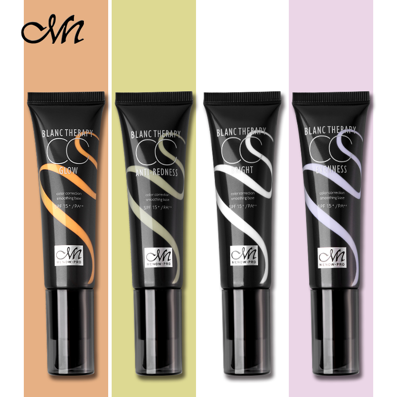 33g Menow 4 Colors Concealer Cream Smooth Multi-Effect Face Skin - Smink - Foto 4