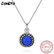 2018 Direct Selling Special Offer Pendant Necklaces Trendy Party Colares Concho Jewelry 925 Sterling Round Necklace For Women