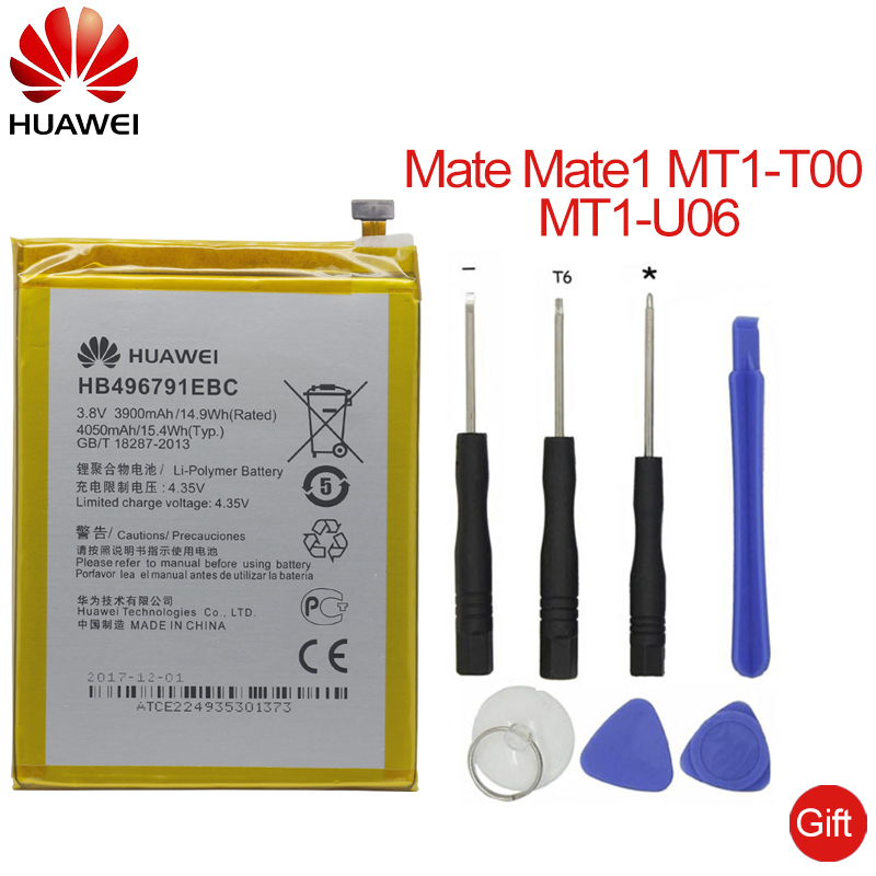 Have An Inquiring Mind Hua Wei Full Capacity 3900mah Original Replacement Phone Battery Hb496791ebc For Huawei Mate 1 Ascend Mt1-u06 Mt2-l02 Mt2-l05 Special Buy Mobile Phone Parts