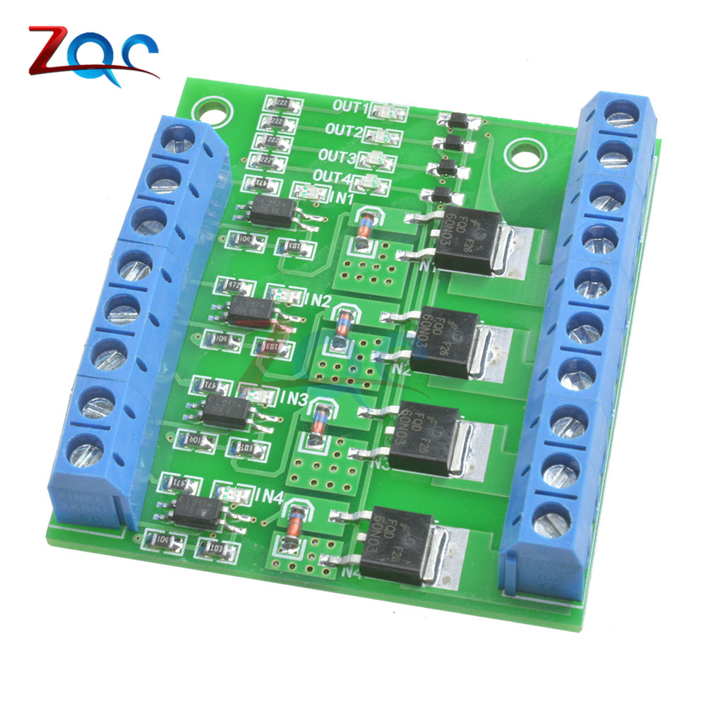 все цены на MOS FET F5305S 4 Channels Pulse Trigger Switch Controller PWM Input Steady for Motor LED онлайн