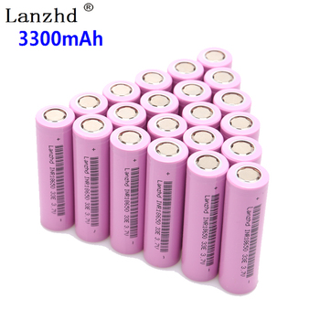 10 ~ 40PCS 18650 3.7V INR18650 baterias recarregáveis de íon de lítio 3.7v 30a grande corrente 18650VTC7 18650 bateria 1