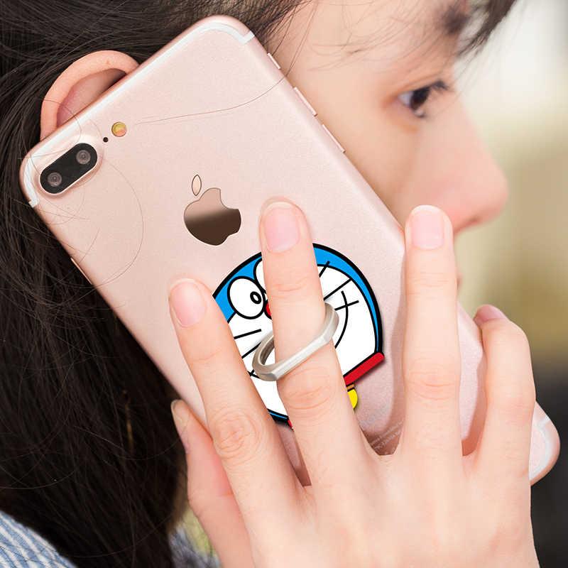 مرحبا كيتي العالمي الدعامات اكسسوارات حامل هاتف المحمول حامل البنصر المغناطيسي آيفون X 8 plus هواوي هاتف ذكي