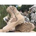 2016 nuevas botas militares botas de cuero erkek bot askeri bot taktyczne buty tacticas hombre botas militares botas tácticas