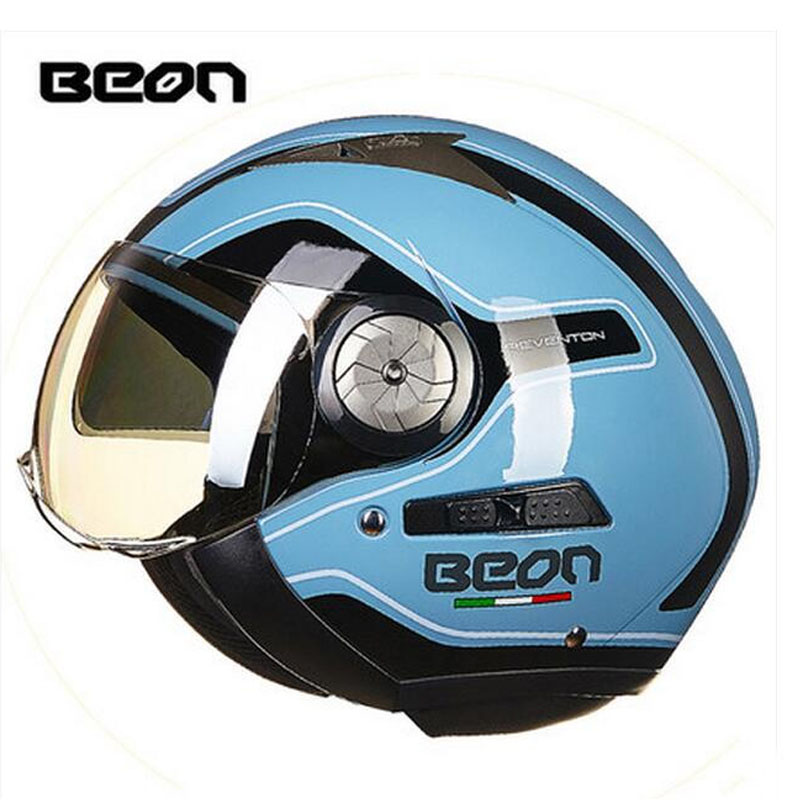 2017 Summer New Knight protection Netherlands band ECE Authentication BEON Open Face Motorcycle helmet ABS 3/4 Motorbike helmets 2017 new knight protection gxt flip up motorcycle helmet g902 undrape face motorbike helmets made of abs and anti fogging lens