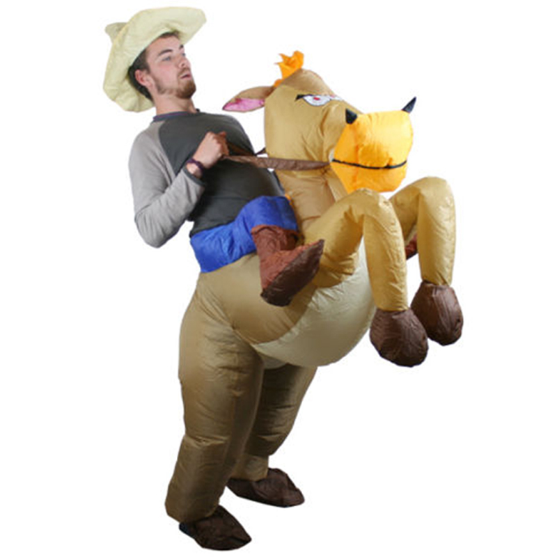 Inflatable Cowboy Horse Costume Halloween Party Costume Of Cowboy Riding 1.5 2m Cosplay Cowboy Costume Party-in Boys Costumes from Novelty u0026 Special Use on ...  sc 1 st  AliExpress.com & Inflatable Cowboy Horse Costume Halloween Party Costume Of Cowboy ...