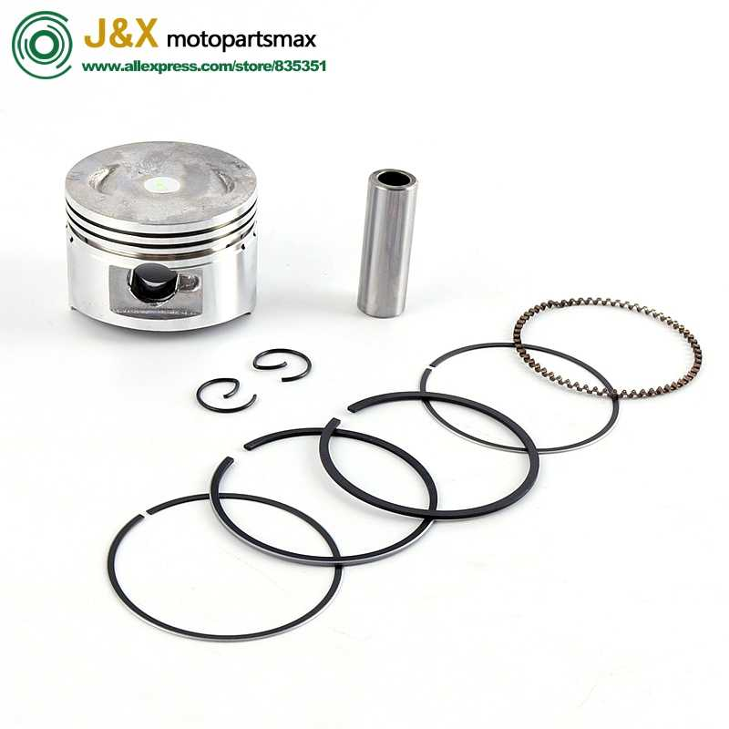 free shipping GY6 50 60 80 100 Cylinder Kit 39mm 47mm 50mm Piston Ring Set for 4 stroke 50cc Scooter ATV 139QMB 1P39QMB 137qma