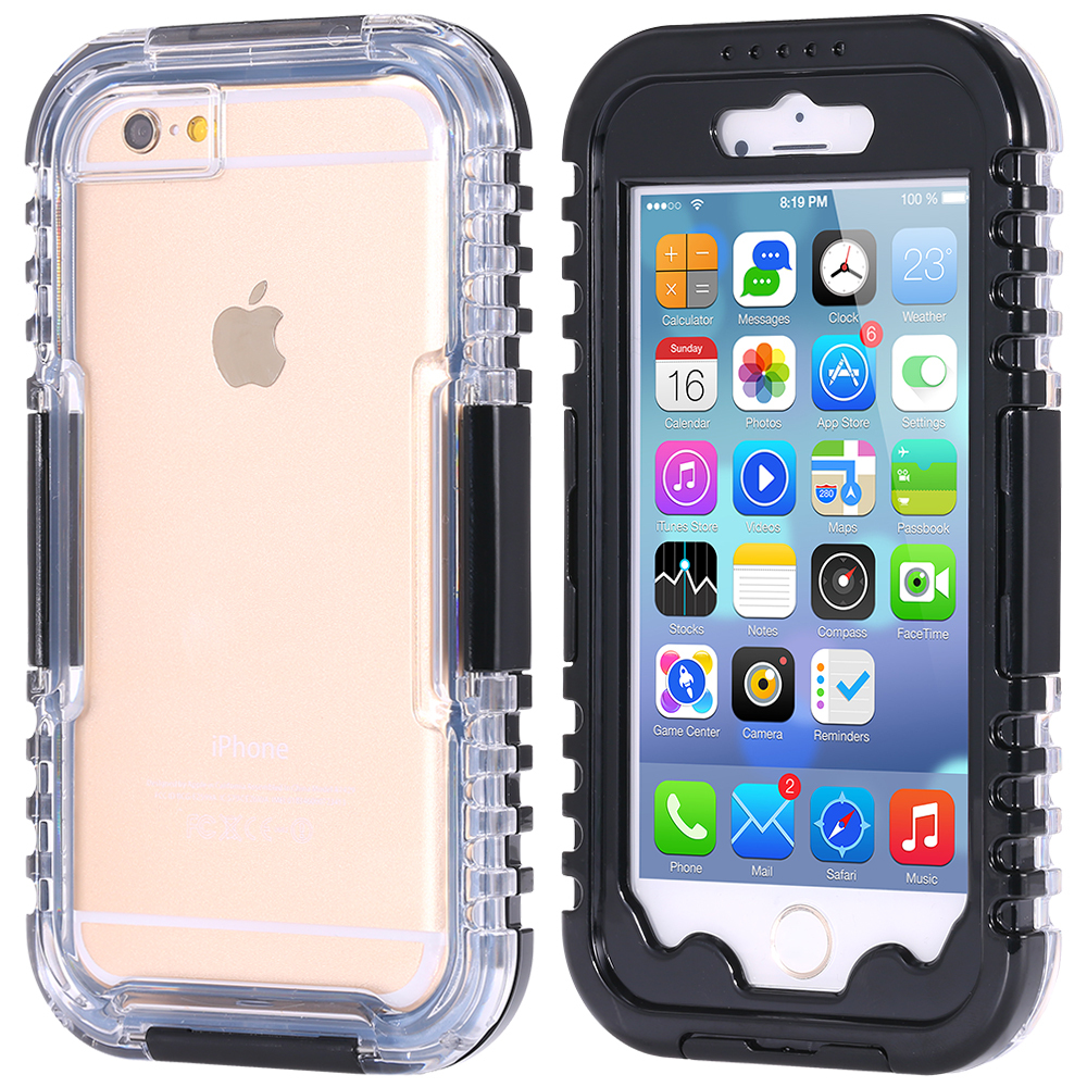 523f5e00a75 Waterproof Cell Phone Cases Coque for Iphone 5 5s SE 6 6S 7 Plus I Phone  Water Proof Case Fundas Carcasas Capinha De Capas-in Fitted Cases from  Cellphones ...