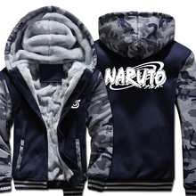 Naruto Camo Thick Hoodies