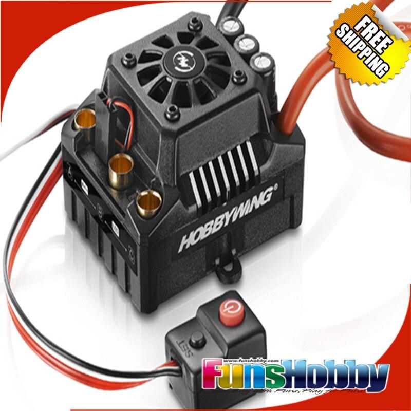 Tenshock X802LV2 6 polak mikro bezszczotkowy silnik DC i Hobbywing EZRUN Max8 V3 150A ESC wodoodporny prędkości ControllerCod. x802lV2 + Max8 w Części i akcesoria od Zabawki i hobby na  Grupa 3