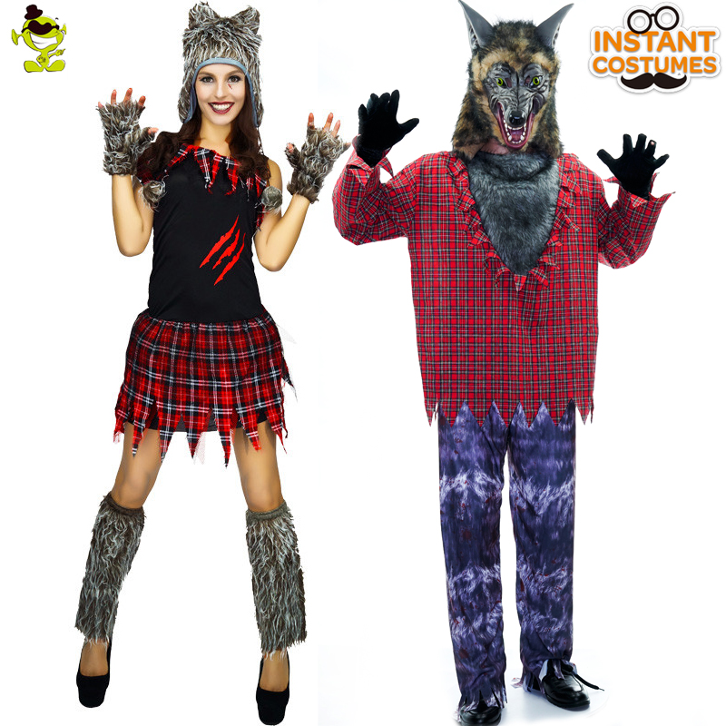 New Sexy Adult Halloween Cosplay Costumes Wolf Animal -8201