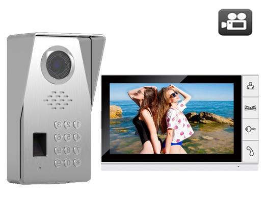 SMTVDP New Arrival Color 9Video Door Phone Doorbell w/t SD Card Slot IR Intercom Home Security System HD FRID Panel Camera 1V1