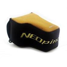 Neopren Yumuşak kamera çantası iç kılıf kapak Için Nikon Coolpix P1000 kamera çantası taşınabilir