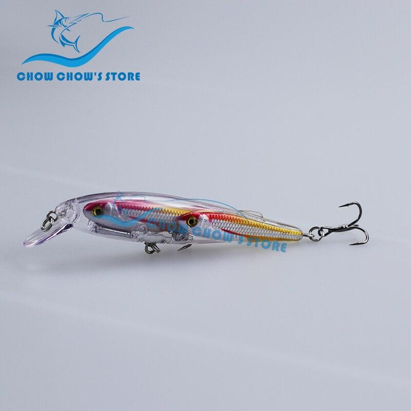 Ardhje e re!!! 5PCS / lot Minnow Fishing Lure Swimbait Minnow Japoni - Peshkimi - Foto 2