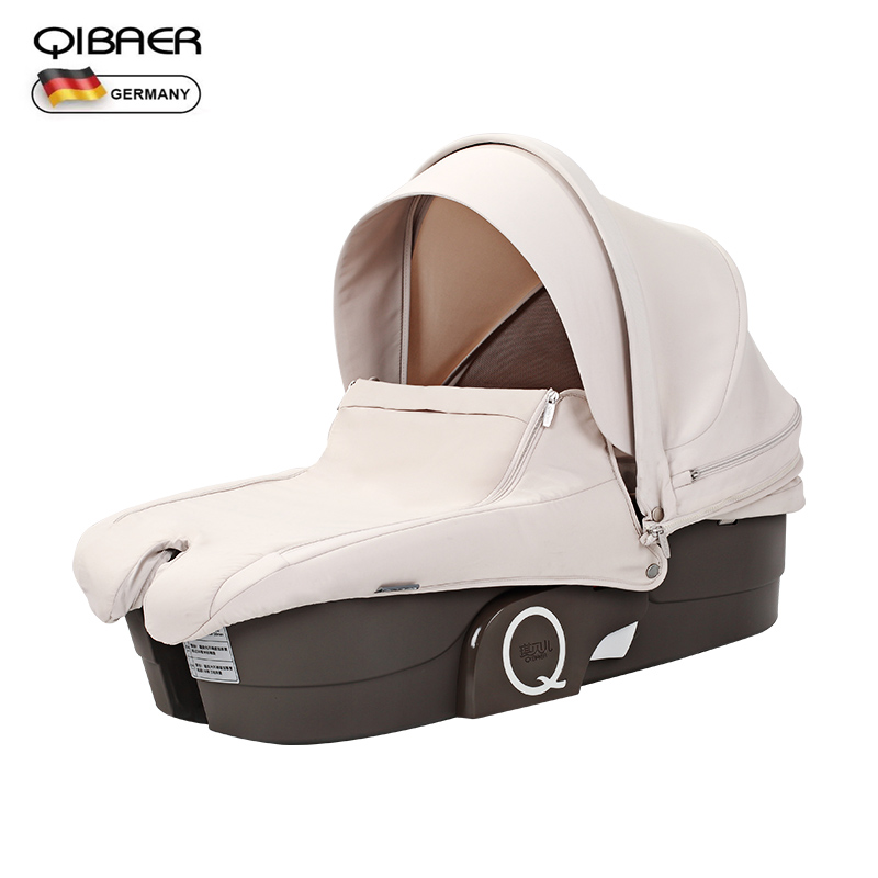Free Ship! Luxury Baby Stroller High Landscape Portable Baby Carriages Folding Prams For Newborns Travel System 2 in 1