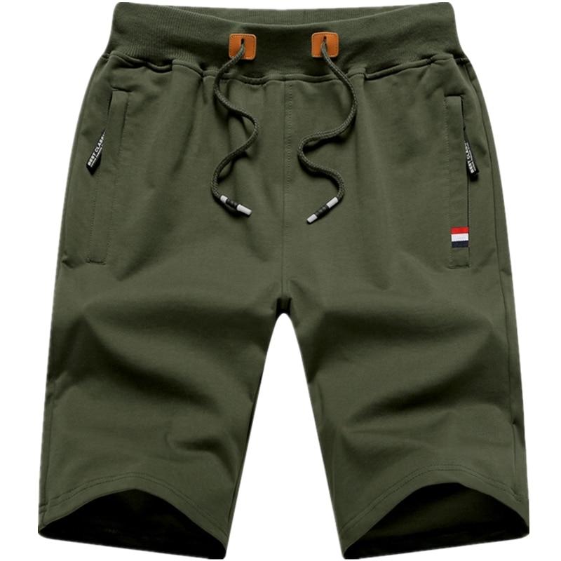Shorts men Summer Cotton Shorts Men Fashion Boardshorts Breathable Male Casual Shorts Mens Short Bermuda Beach Short Pants Hot 9 10