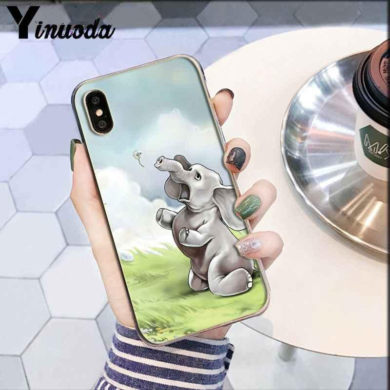 Yinuoda ダーシーハリネズミ羊新着透明携帯電話ケース用 8 7 6 6S プラス X XS 最大 5 5S 、 SE XR ケース