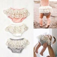 Adoeable/нижнее белье для новорожденных и маленьких девочек с рюшами и оборками, PP штаны, подгузник, пляжный костюм, подгузник, 0-24 мес