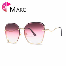 MARC sunglasses Brand women fashion Trend personality sunglasses