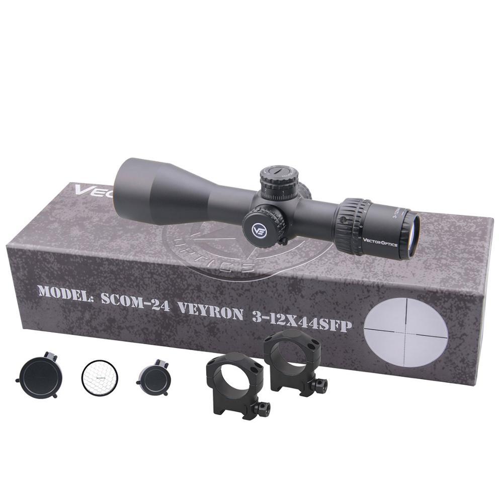 Image 5 - Vector Optics Veyron SFP 3 12x44 Riflescope Ultra Compact Air Rifle Scope Second Focal Plane Air Gun 1/10 MIL AR15 .223 7.62Riflescopes   -